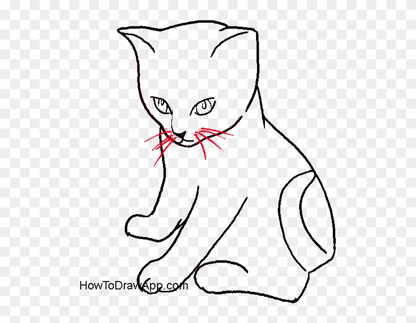 cat clipart - Google Search   Cat face drawing, Cat drawing for kid, Cat  outline