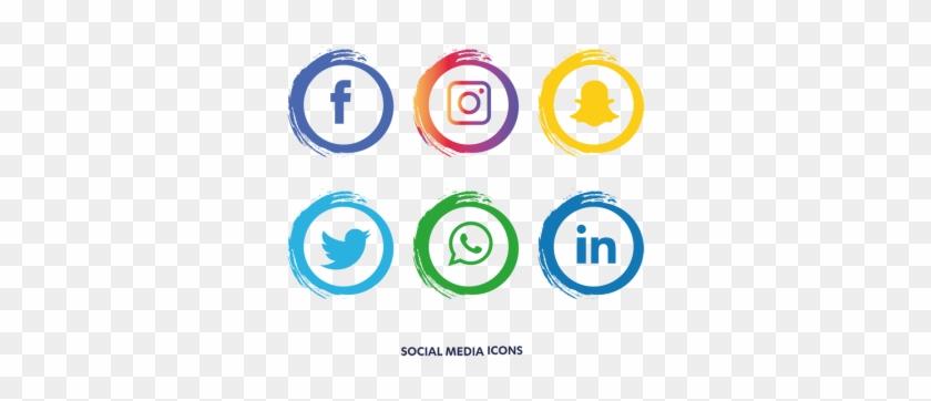 Social Media Icons Set - Social Media Icon Png #1294833
