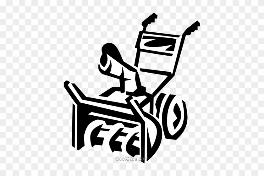 Snow Plow Clipart - Draw A Snow Blower #1295246