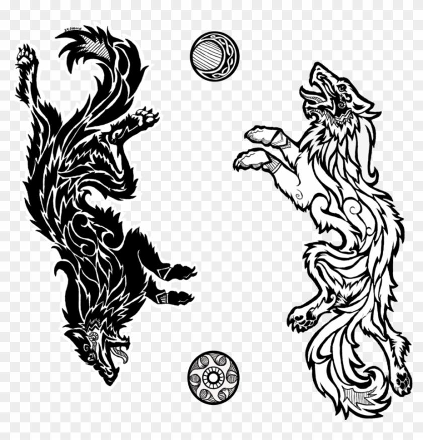Cuz I Love Norse Mythology, And I Felt Like Doing A - Norse Mythology Tattoo Designs #1295266