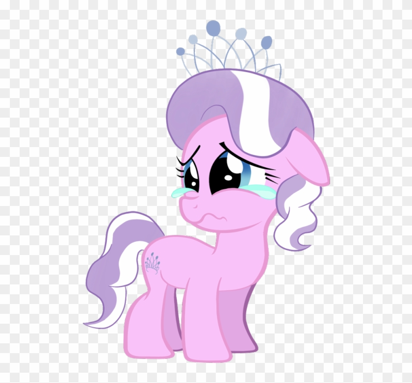 I Don't Know What To Choose, Do We Have To Choose, - Mlp Diamond Tiara Sad #1295985