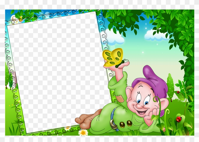 Dwarf Clipart Border - Beautiful Frames For Photos Free Download #1296079