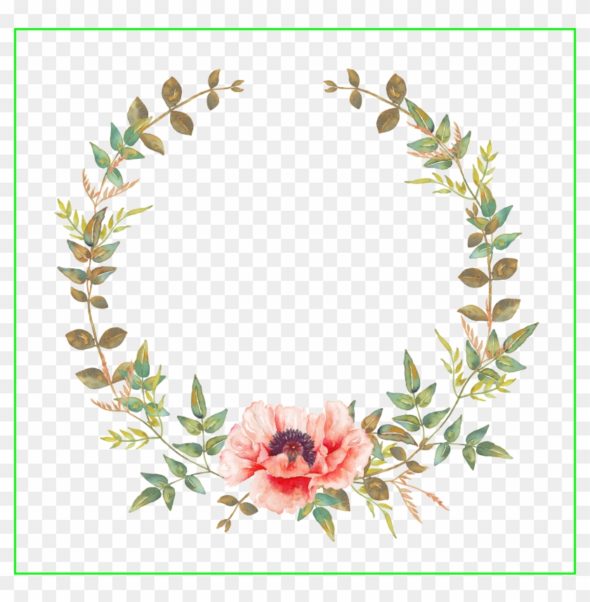Lilac Lilac Flower Vector Fascinating Pin By Nadia - Transparent Watercolor Floral Wreath #1296416