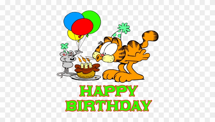 Happy Birthday Garfield Happy Birthday With Garfield Free Transparent Png Clipart Images Download