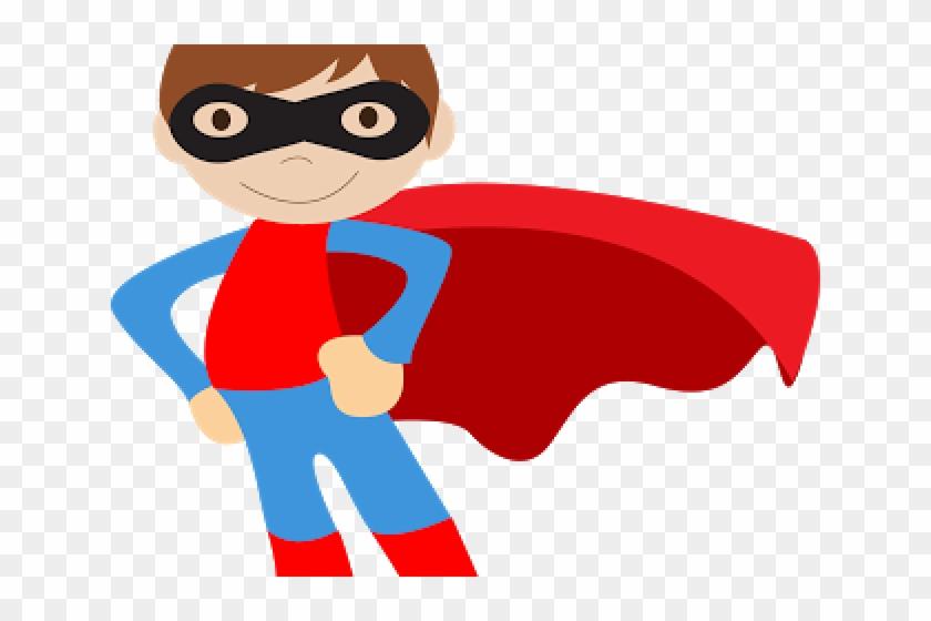 Kid Superhero Clipart - Superhero Kids Clipart #1297925