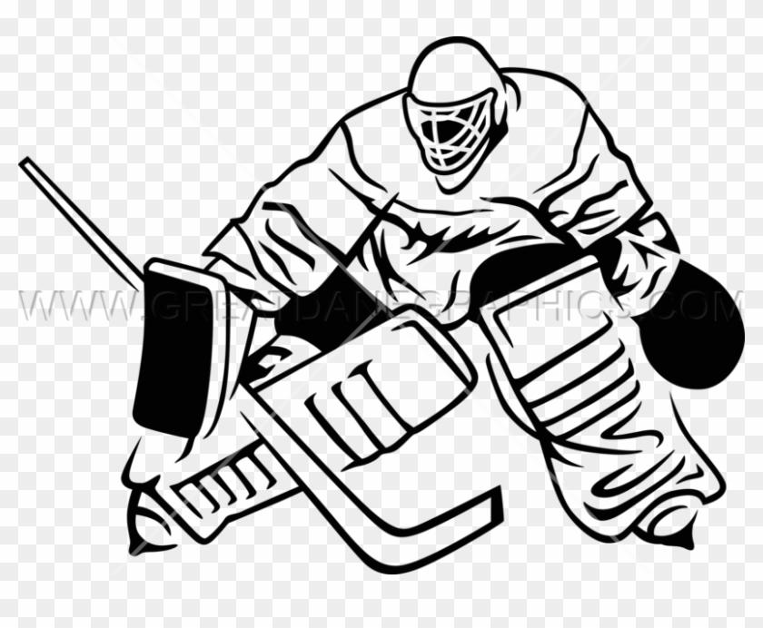 Images Of Crossed Goalie Hockey Sticks Clipart