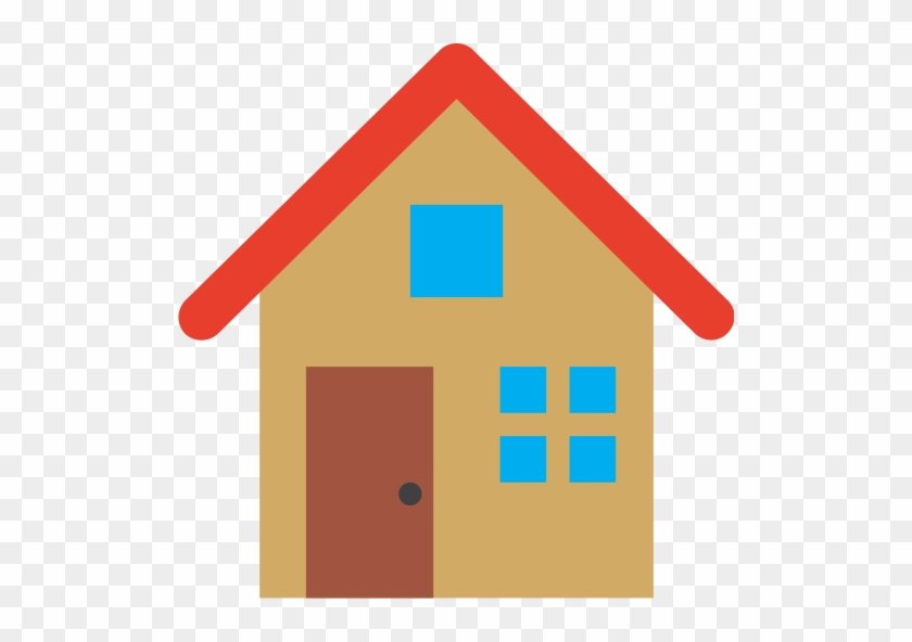Free Any House - House Heart Icon Png #1299400