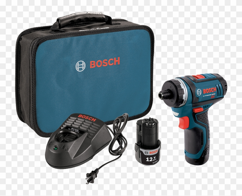 Ps21 2a 12v Max Two Speed Pocket Driver Kit - Bosch Tools Ps21-2a 12v Max 2-speed Pocket Driver #1300780