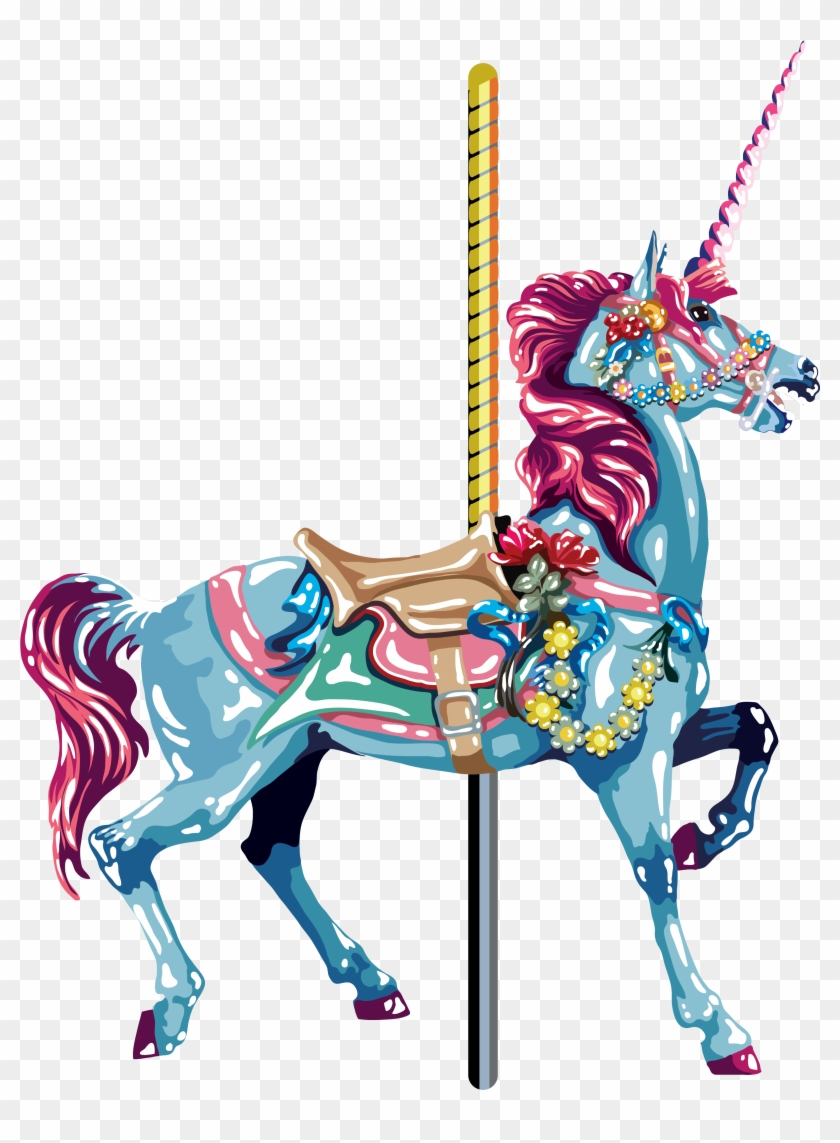 2018 Carousel Horse Outline With Images For 0code1shopcheap - Carousel Horse Image Vector #1302257