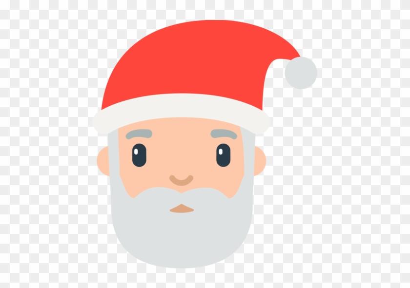 Christmas Emojis.Santa Clipart Emoji Father Christmas Emoji Free