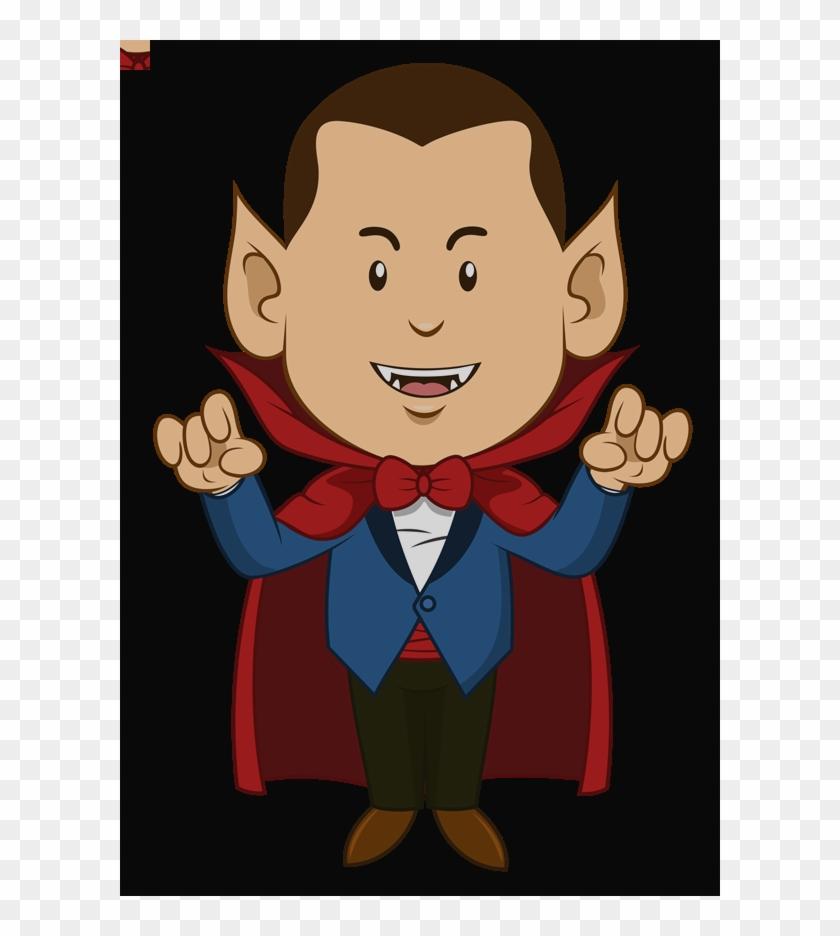Free To Use & Public Domain Dracula Clip Art Cartoon - Clip Art #1302766