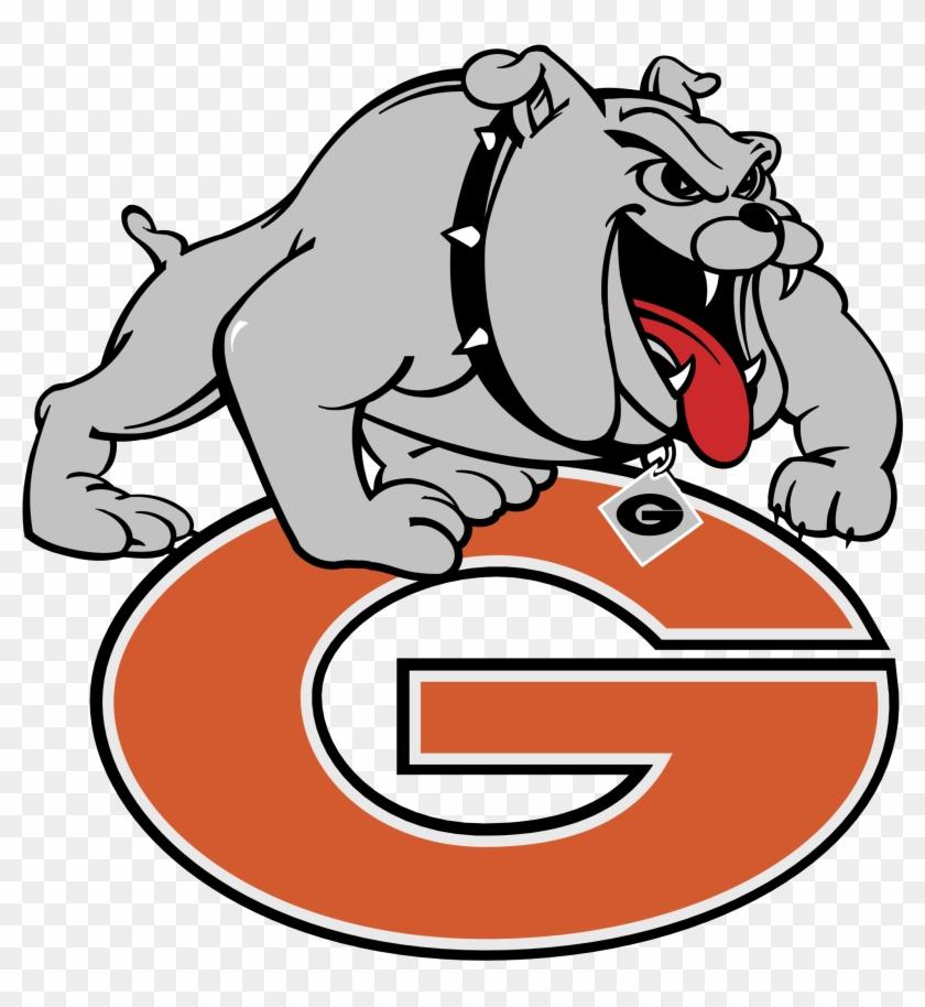 Georgia Bulldogs Logo Png Transparent - Grant Community High School Logo #1303891