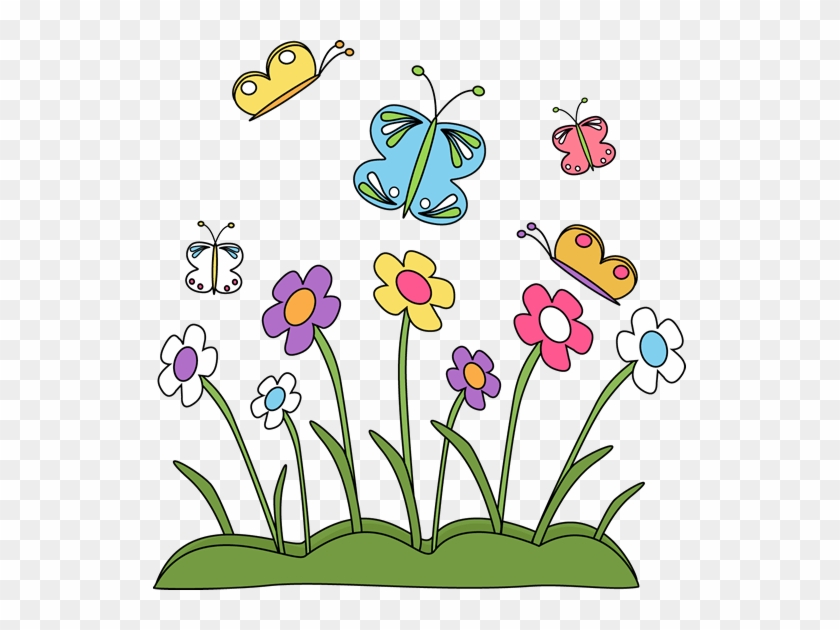 Free spring border clip art my book of flowers in english free spring border clip art my book of flowers in english spanish mightylinksfo