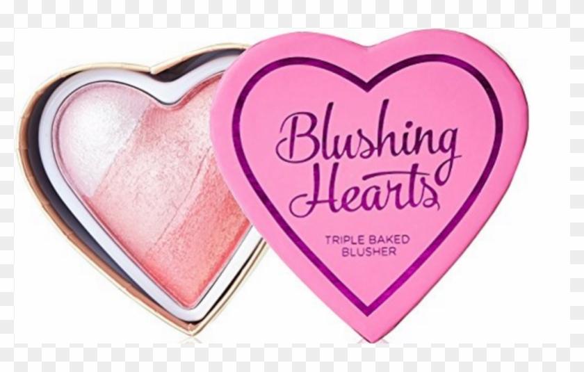 I Heart Makeup Blushing Hearts Triple Baked Blusher - Blushing Hearts Bursting With Love #1306808