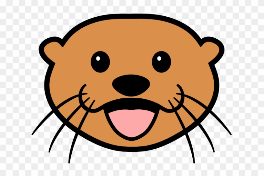 otter clipart face sea otter cartoon free transparent