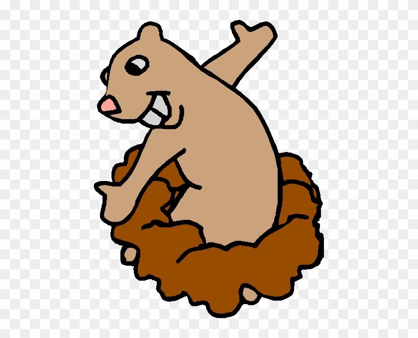 Groundhog Clipart Valentine - Groundhog Day Gif Clipart #1307719