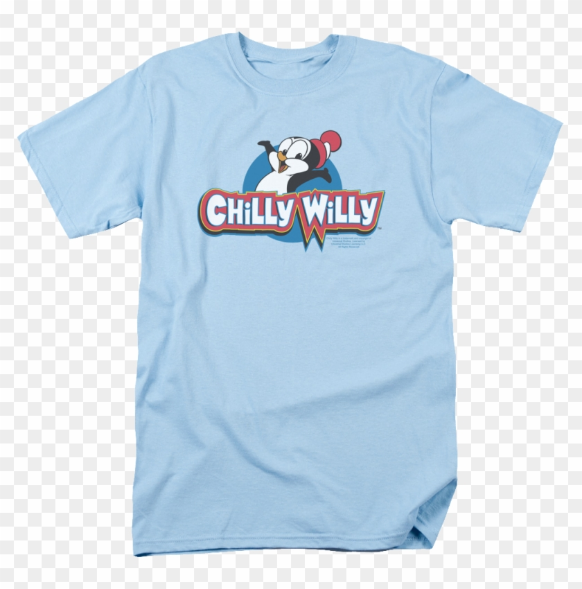Characters Sesame Street T-shirt - Chilly Willy - Logo T-shirt Size S #1308061