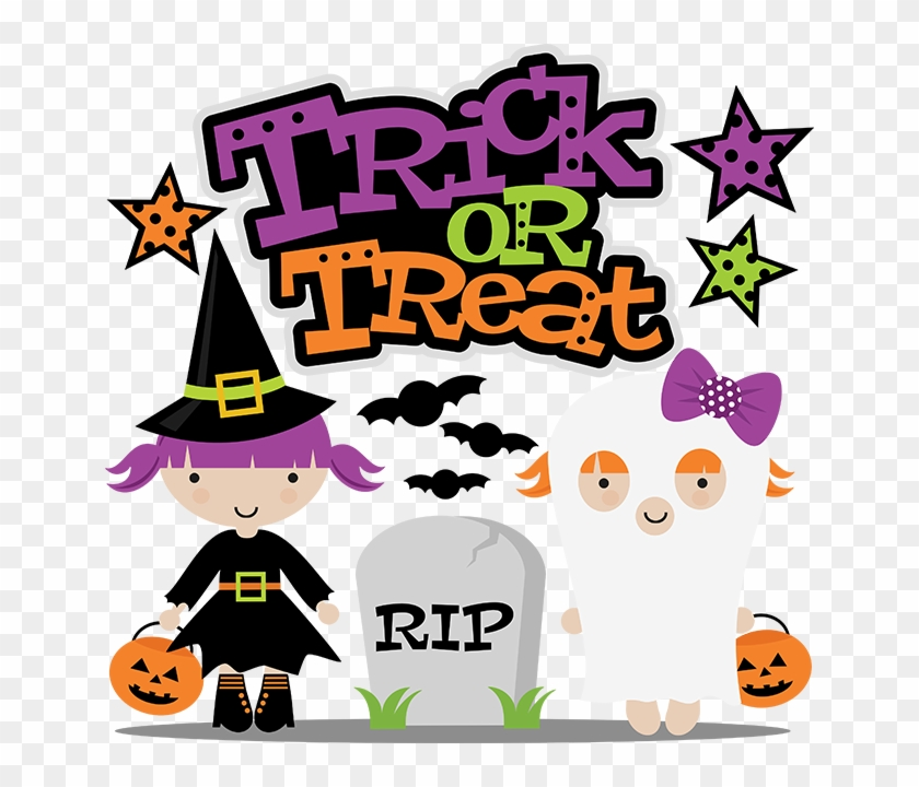 Trick Or Treat Svg Cut File For Scrapbooking Witch Trick Or Treat Free Free Transparent Png Clipart Images Download