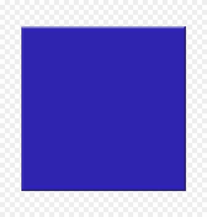 Square Clip Art - Blue Square Clip Art #27087