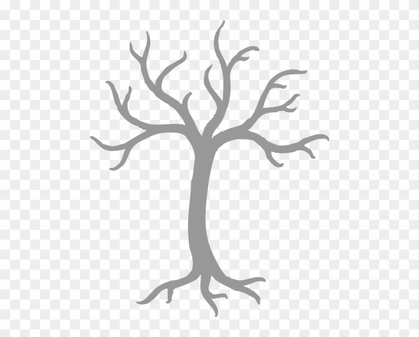 Tree Clipart Grey #27116
