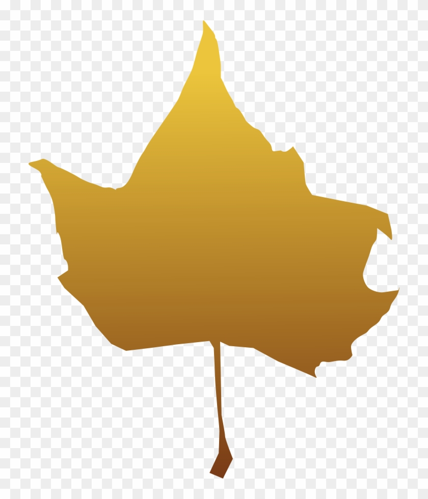 Maple Leaf Clipart, Vector Clip Art Online, Royalty - Blade I Efterår Transparent #27154