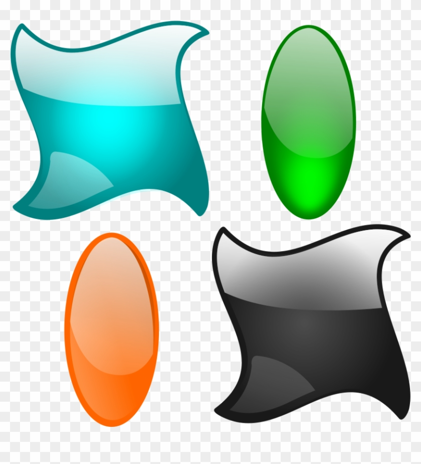 Shapes Graphics Png Images - Vector Shapes Design Png #27174