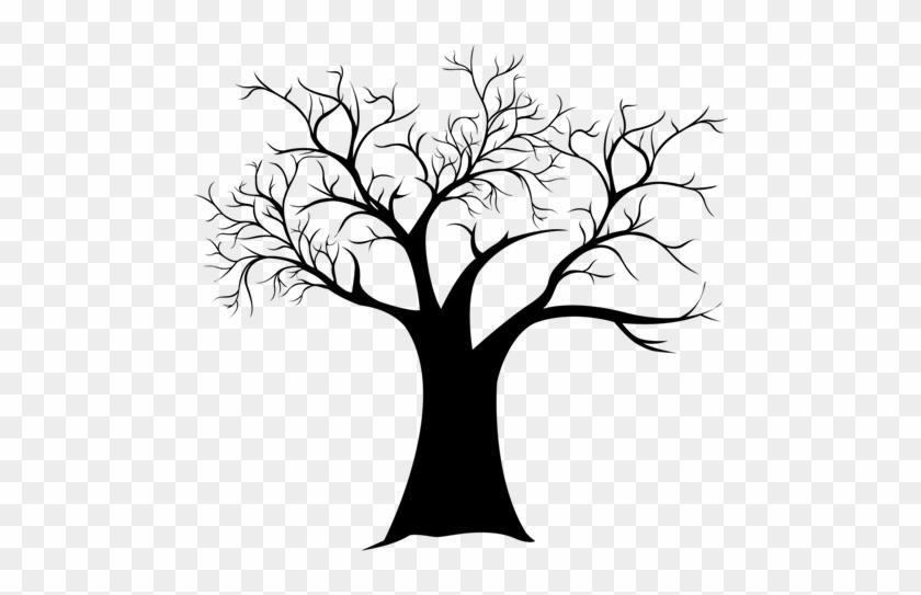 Free Printable Fingerprint Tree Template - Silhouette #27176