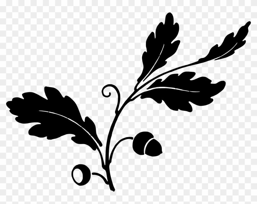 Medium Image - Oak Leaf Silhouette #27192