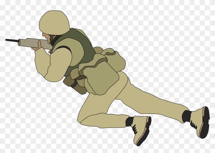 Soldier - Cartoon Soldier No Background #27240