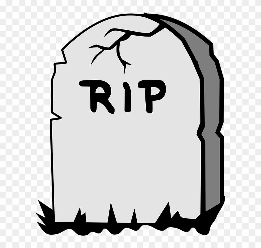 Free Vector Graphic Headstone Cemetery Grave Image - Gravestone Clipart #27261