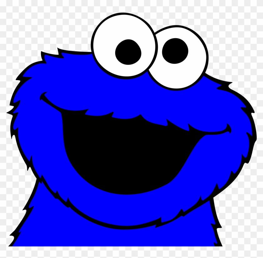Cookie Monster Clip Art - Cookie Monster Vector Free #27262