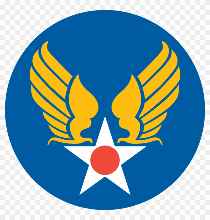 Free Vector Us Army Air Corps Shield Clip Art - United States Air Force Symbol #27274