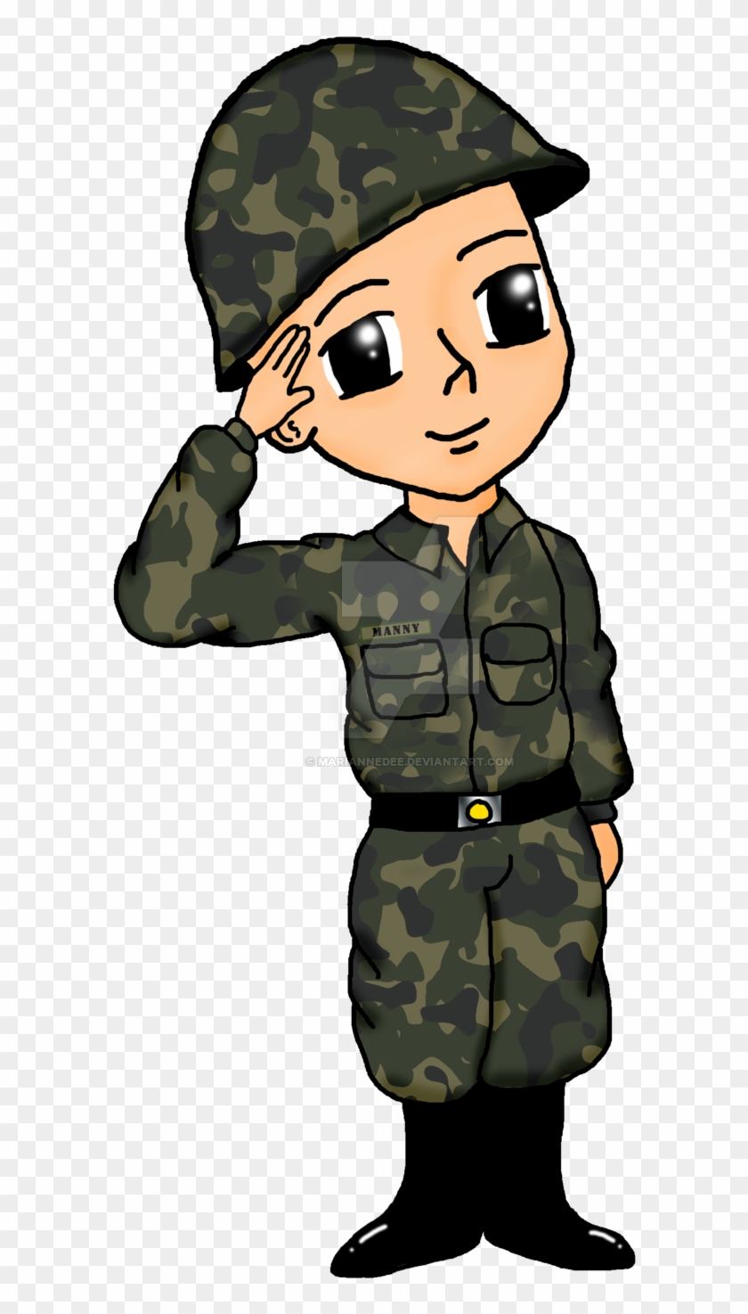 Soldier Drawing Military Army Clip Art - Sundalo Drawing #27277