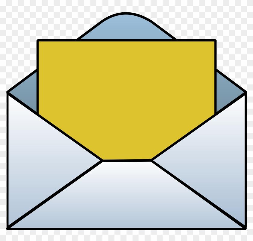 Big Image - Envelope Clipart #27293