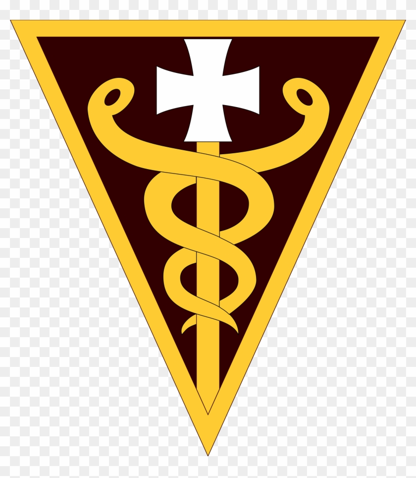 Army Medical Insignia Clipart - 3d Mcds #27301