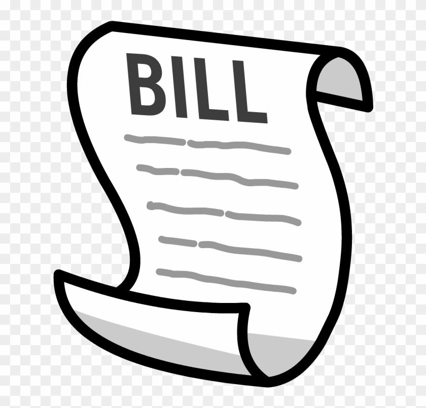 Bill Clipart - Medical Bill Clip Art #27306