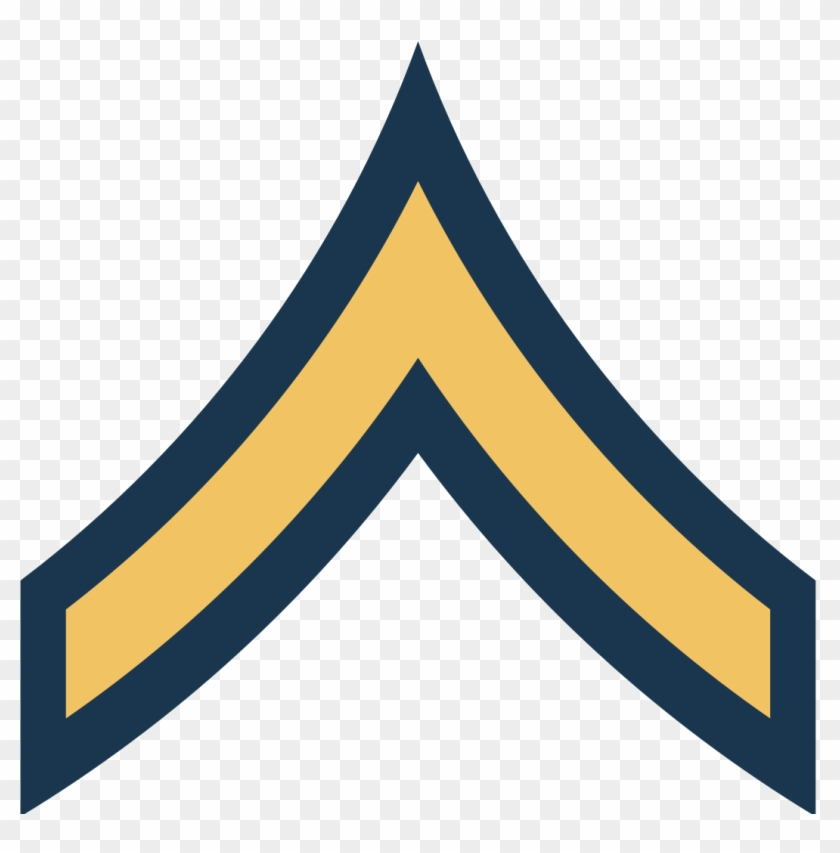 Army Usa Or - Private First Class Army #27307