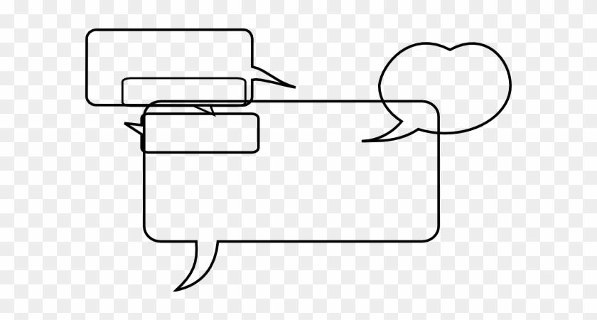 Speech Bubbles 5 Png, Svg Clip Art For Web - Clip Art #27348