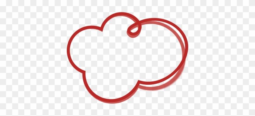 Bubble Cloud Clipart - Hand Drawn Shapes Png #27352