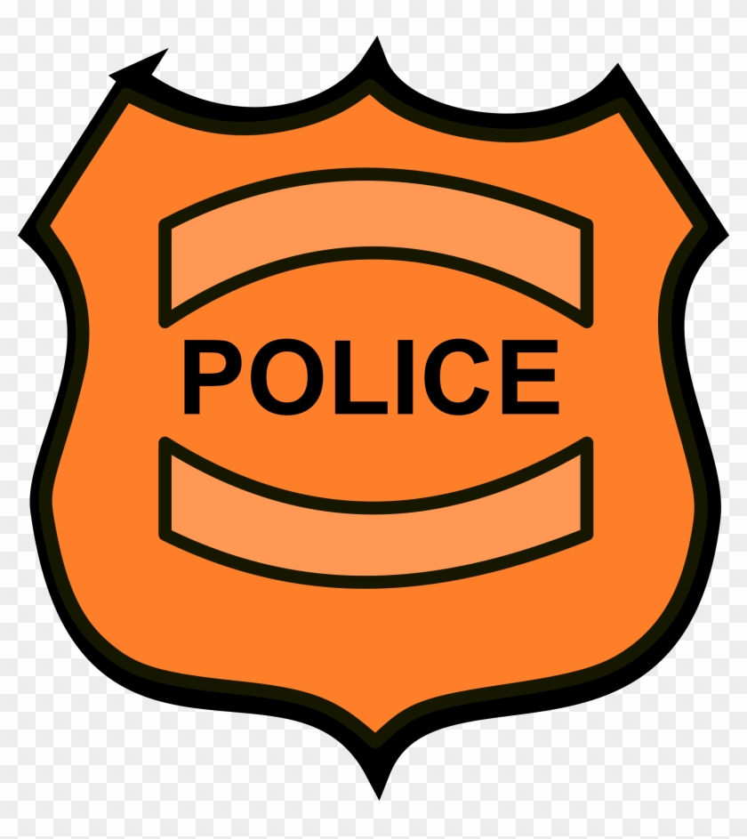 Police Clipart Images - Clipart Of Police Badge #27373