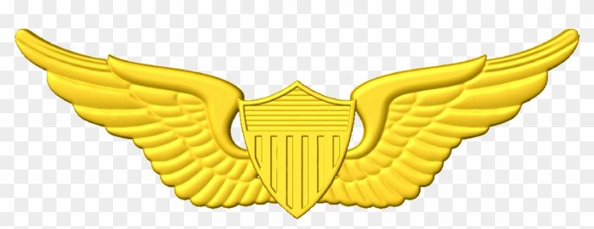 Army Pilot A 1 - Pilot Wings Clipart #27389