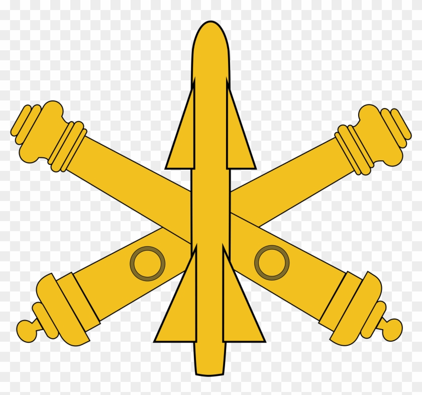Air Defense Artillery Branch Insignia Clipart - Air Defense Artillery Logo #27400