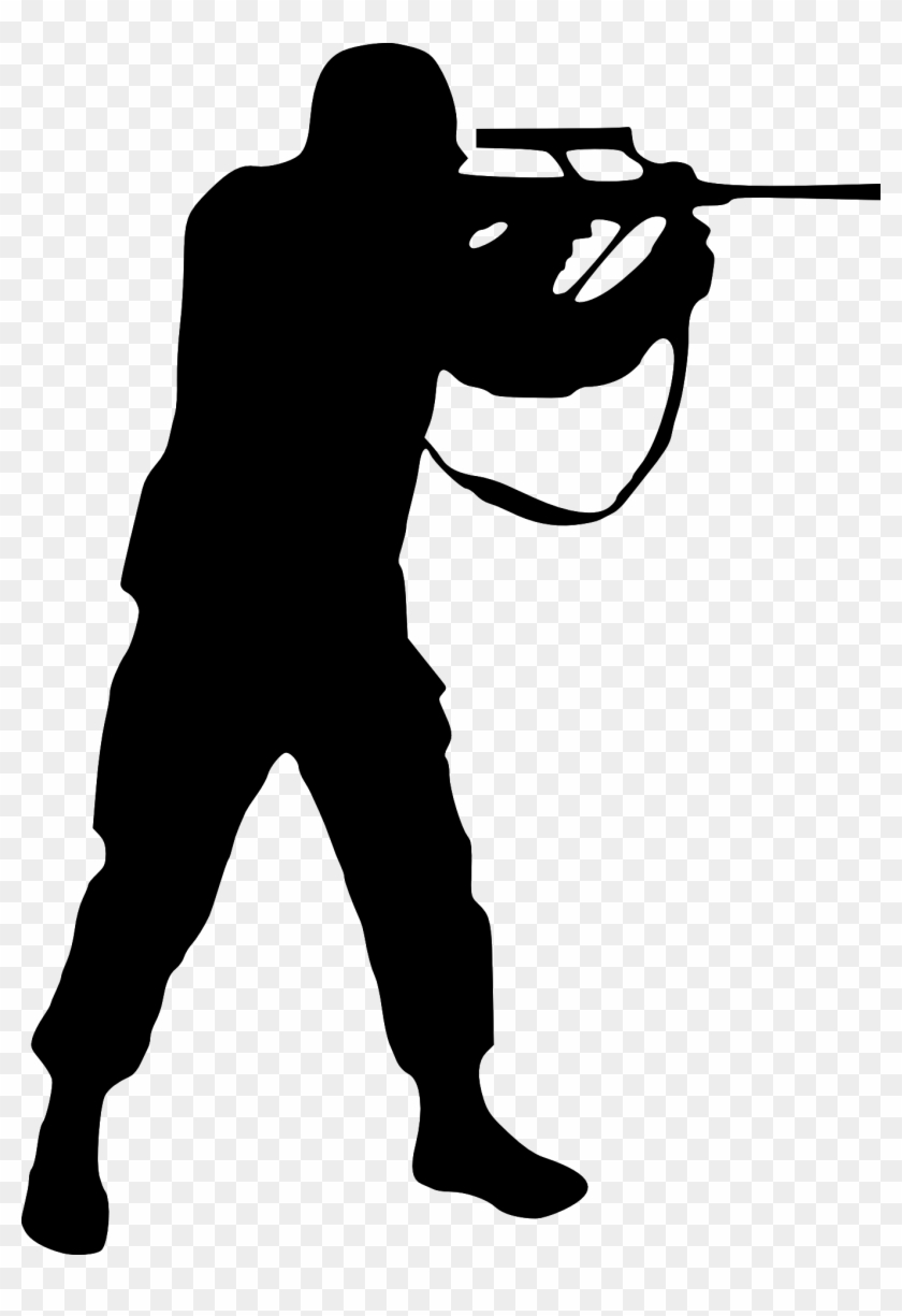 Photo Detail - Soldier Silhouette Army Png #27411