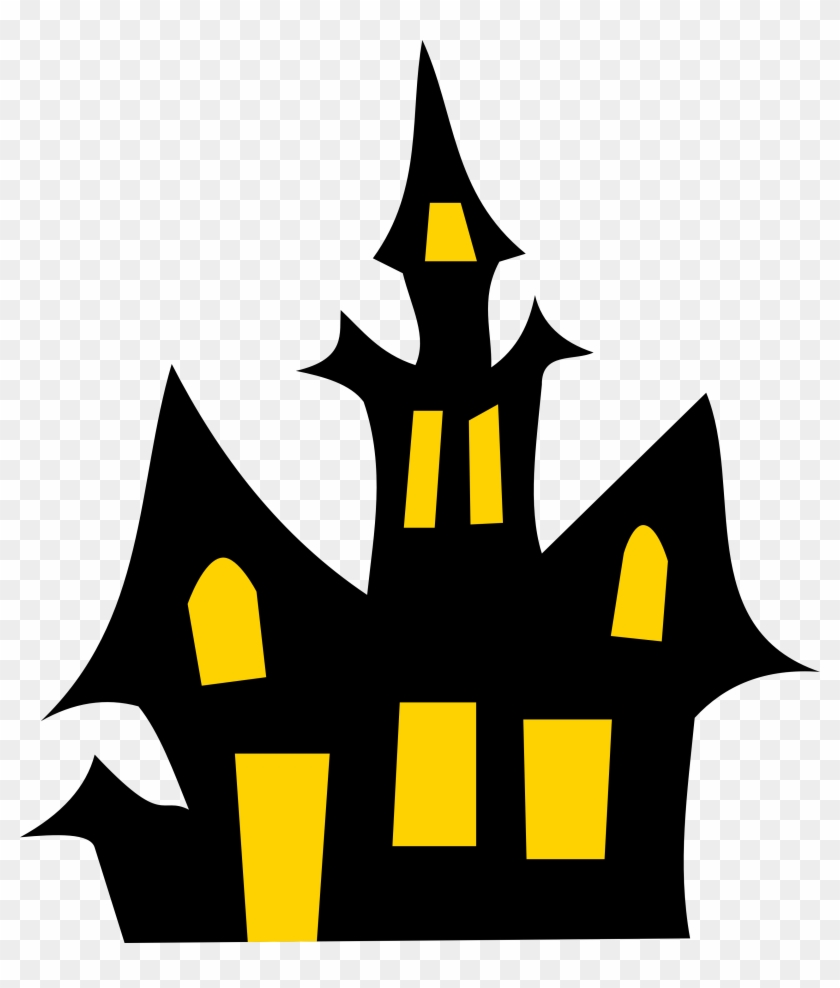 Haunted House Clip Art - Haunted House Clipart #27431