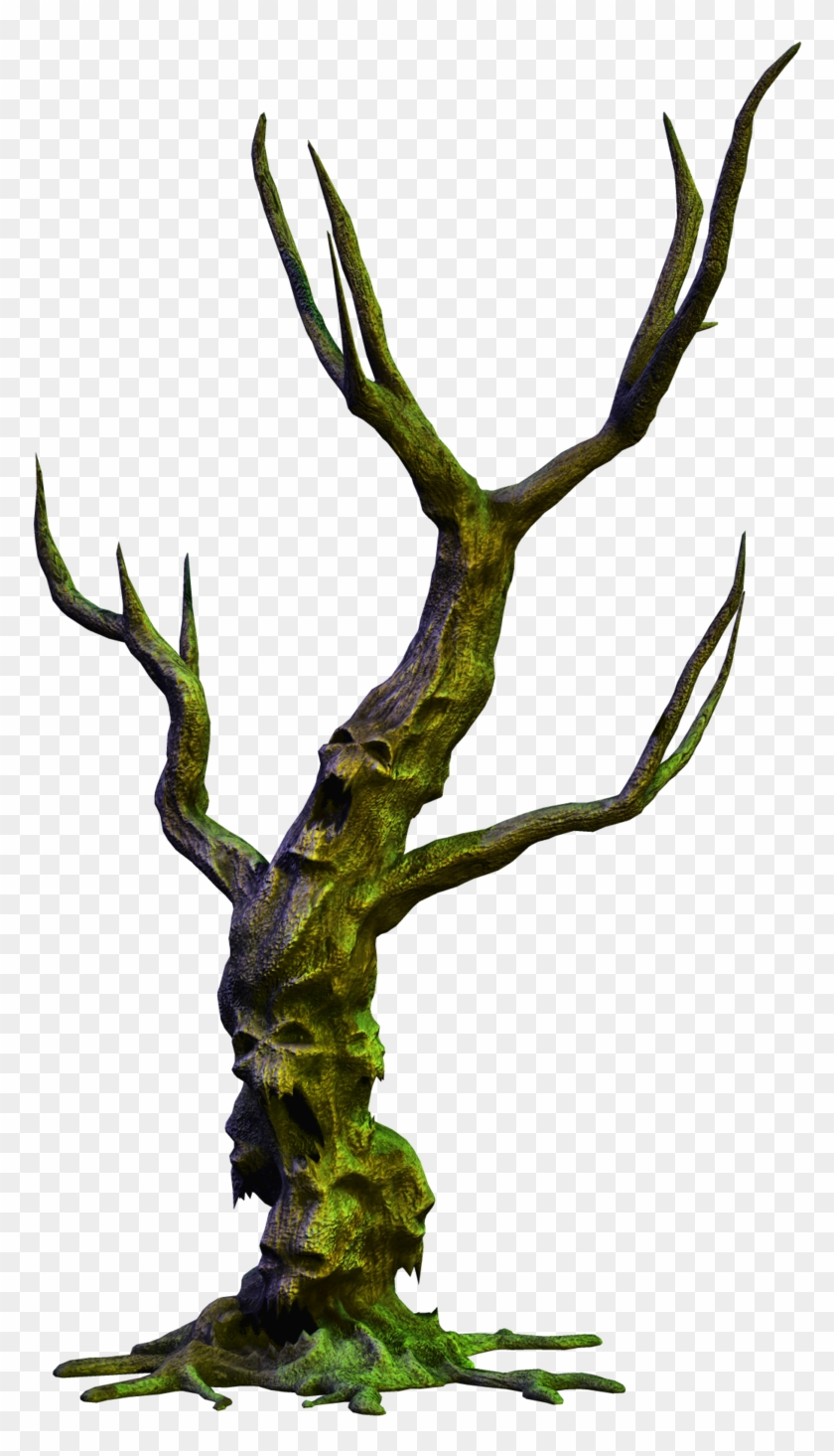 Spooky Tree 05 Png Stock By Roy3d - Scary Tree Png #27432