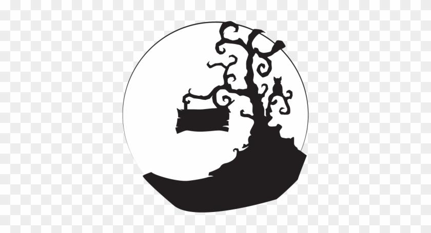 Spooky Tree 2 Gobo - Silhouette #27438