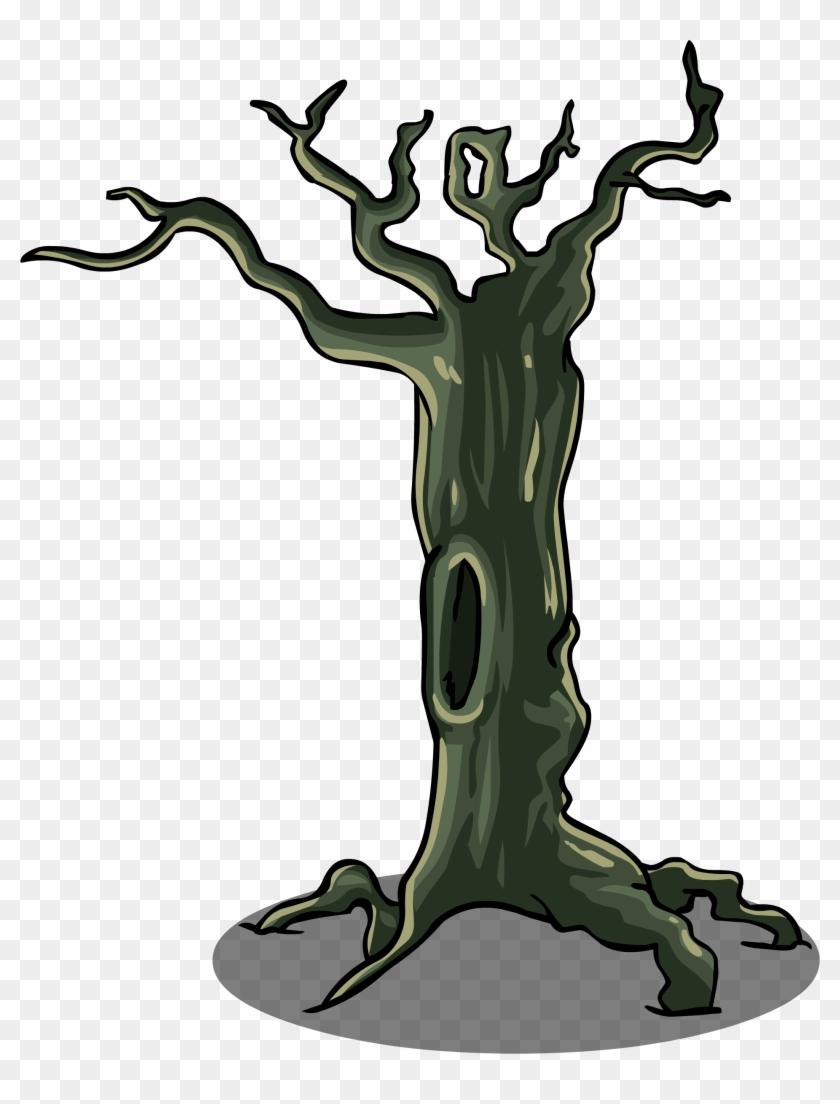 Spooky Tree Sprite 004 - Tree Branch Sprite #27443