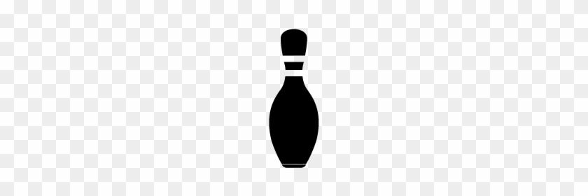Bowling Pin Icon - Line Art #27461