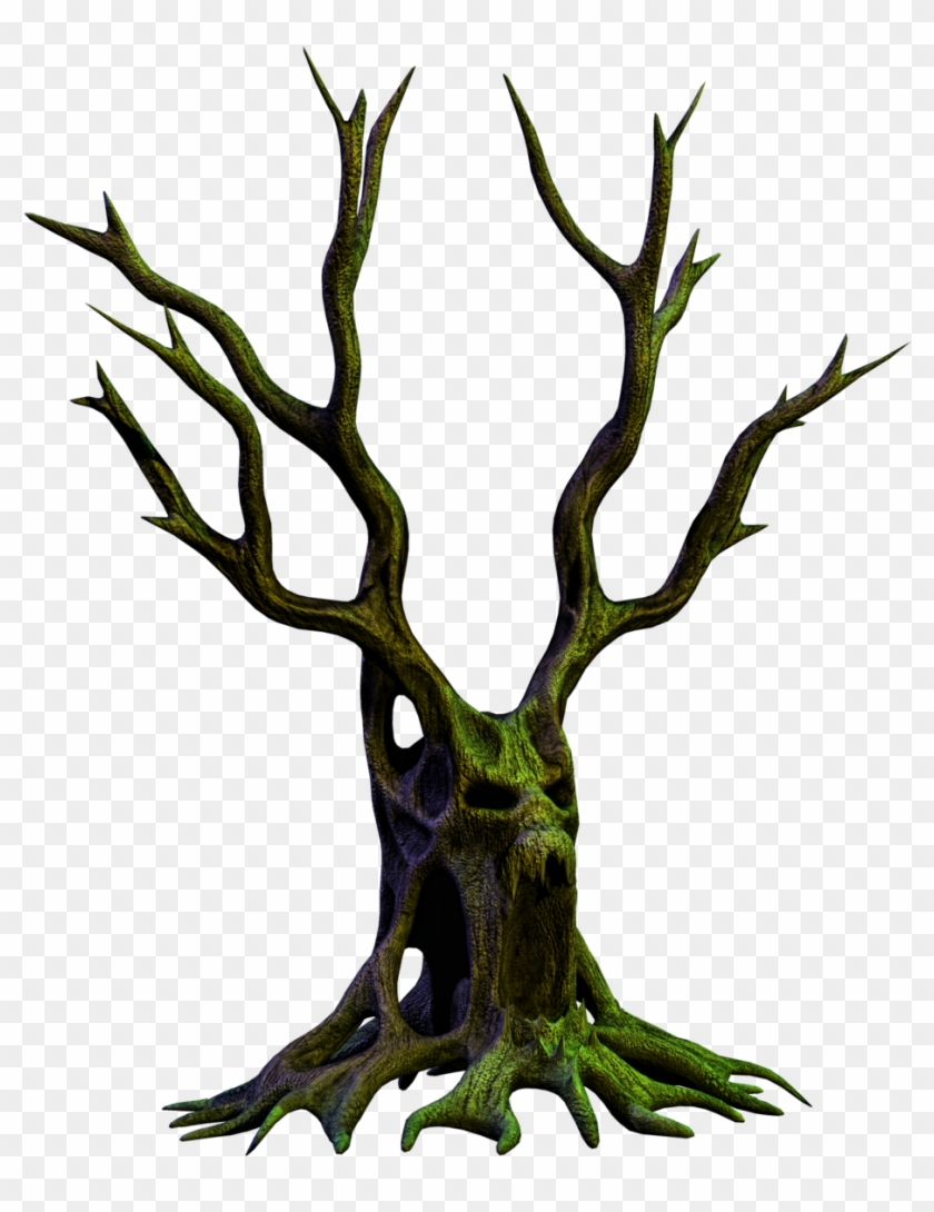 Spooky Tree 06 Png Stock By Roy3d - Transparent Background Tree Spooky #27466