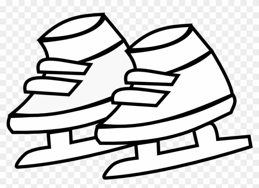 » Clip Art » Netalloy Skating Shoes Kids Black - Coloring Book #27467